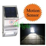 太阳能人体感应壁灯 DL-MSW02
