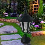 塑料太阳能柱头灯 DL-SP201P
