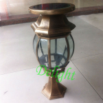 2W 太阳能柱头灯 DL-SPS004