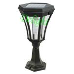 2W 超高亮太阳能柱头灯 DL-SPS008
