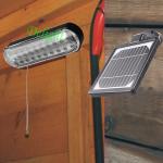 拉绳开关太阳能家庭照明 DL-GR01