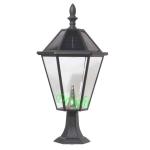 高配置开窗太阳能柱头灯 DL-SPS011
