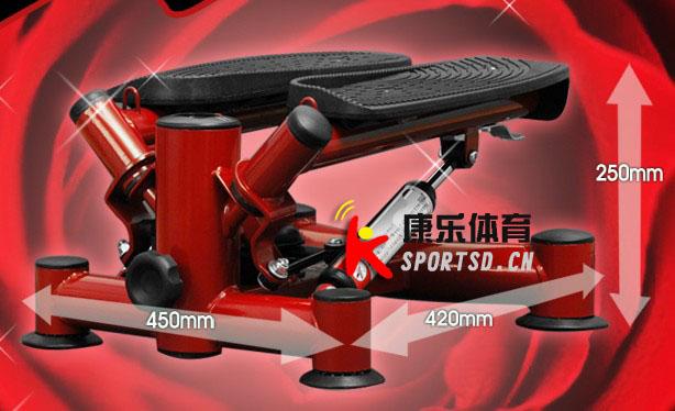 红色 高跟鞋 极限踏步机 外贸出口 踏步机 油压踏步机