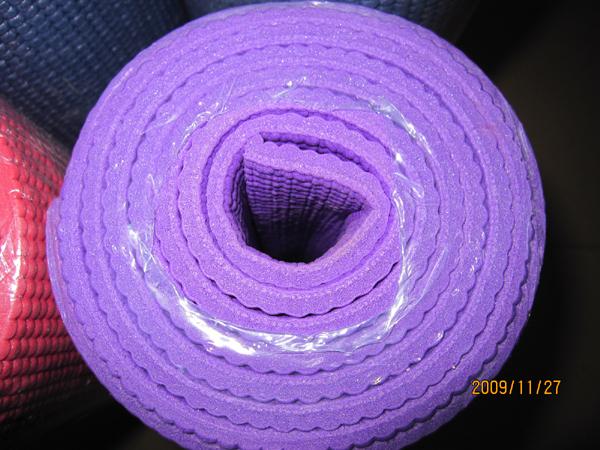 济南瑜伽垫 专业pvc瑜珈垫