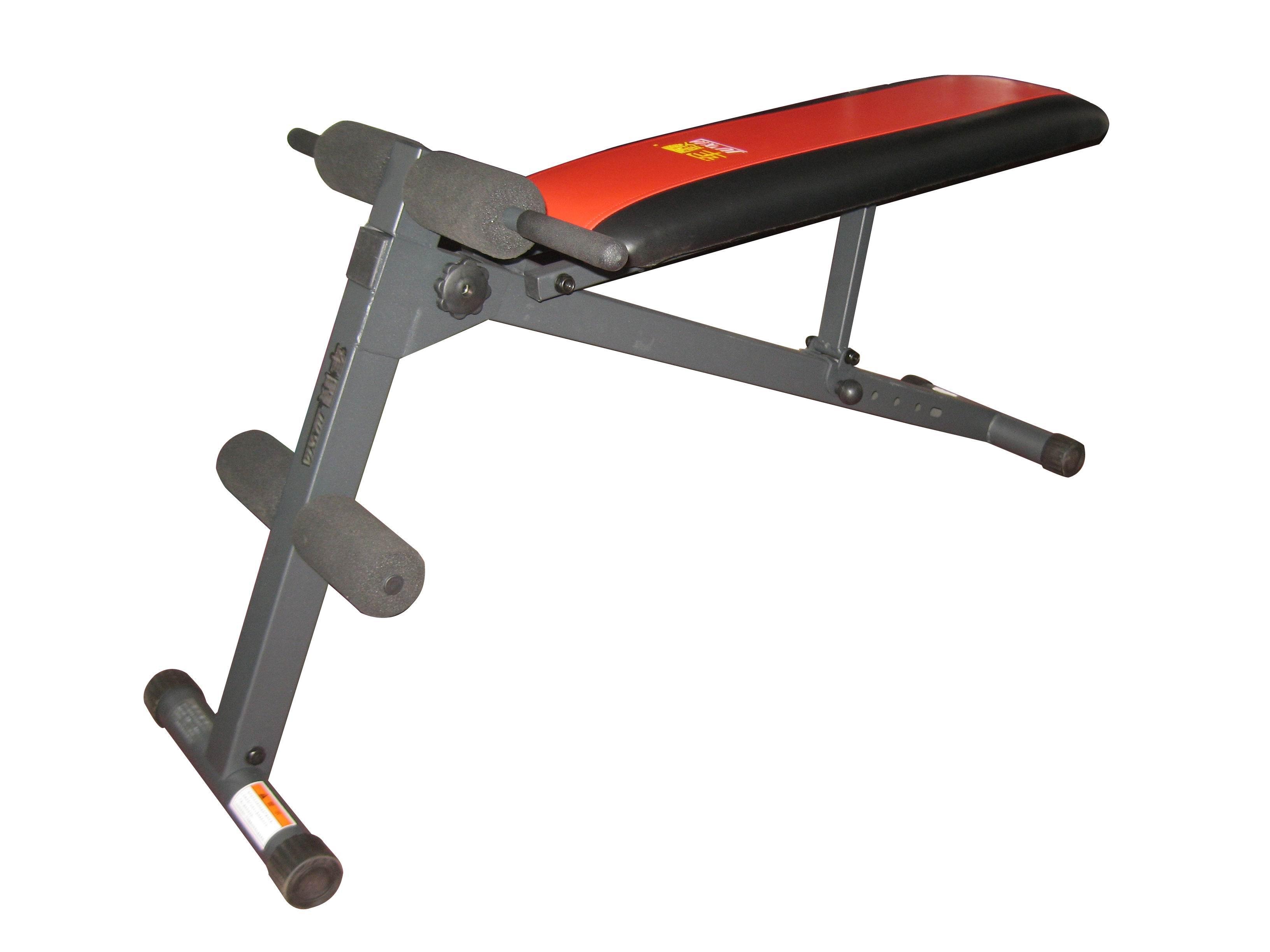 军霞JX-508A仰卧起座板|仰卧板|腹肌板|哑铃凳|健腹板