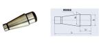端面铣刀定位心轴