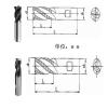 硬质合金波形刃立铣刀