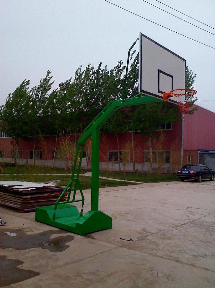 移动篮球架|标准篮板|配玻璃钢篮板