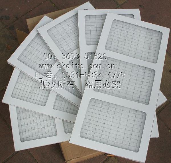 纸框过滤网 无褶皱 平铺