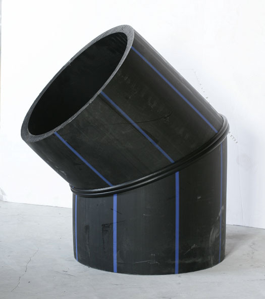 多角焊加工PE特殊焊制管件承受16公斤压力