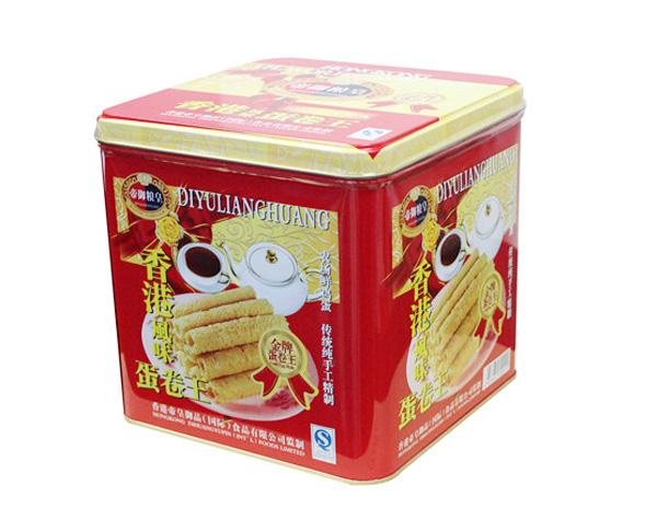 帝御品皇-香港风味蛋卷(罐装)