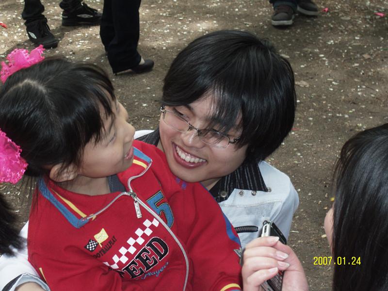 2009年5月10日心支部南湖活动
