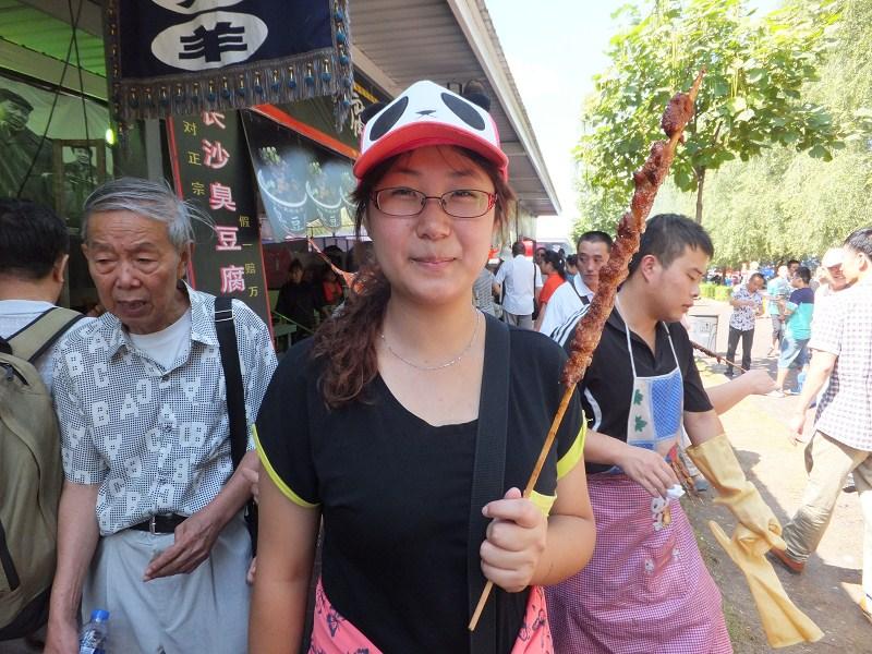 【志愿者秀】2012级志愿者-马帅