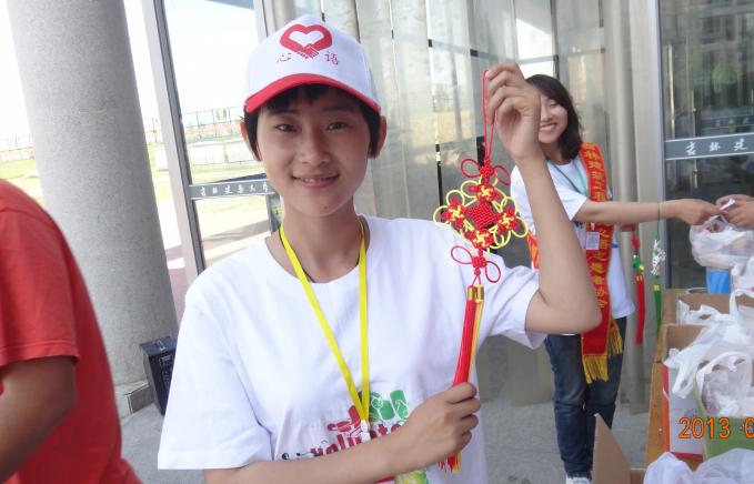 【志愿者秀】2012级志愿者-于威
