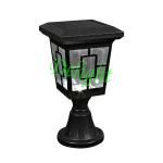塑料太阳能柱头灯 DL-SP801P