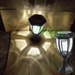 LED太阳能柱头灯 DL-SP735