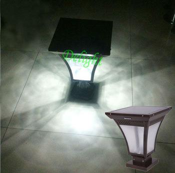 4W 太阳能柱头灯 DL-SPS001