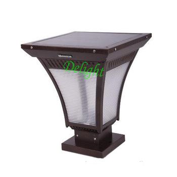 高亮度太阳能柱头灯 DL-SPS001