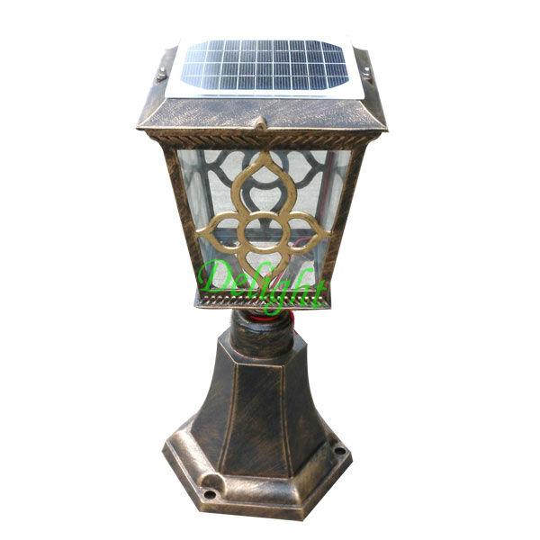高亮度太阳能柱头灯 DL-SP763