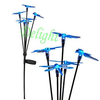 5头太阳能蜻蜓地插 DL-SCT201-5B