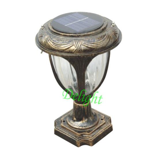 欧式太阳能柱头灯 DL-SP266