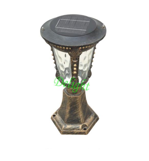2W高亮度太阳能柱头灯 DL-SP267