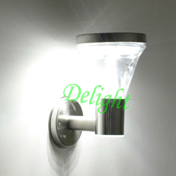 High Bright Human Induction Led Solar Wall Light DL-MSW01