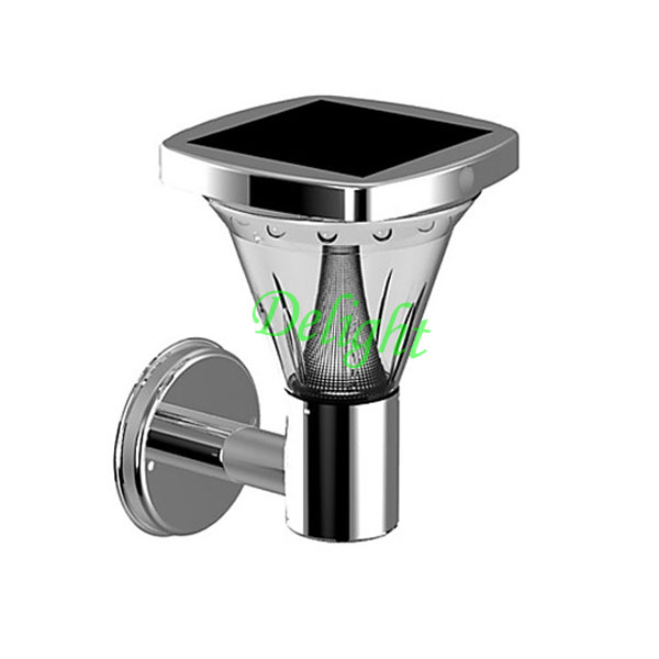 LED太阳能人体感应壁灯 DL-MSW01B
