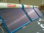锦州太阳能维修网太阳能热水工程安装实例!