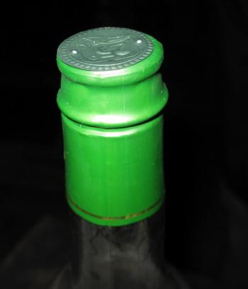 瓶口标签收缩样品