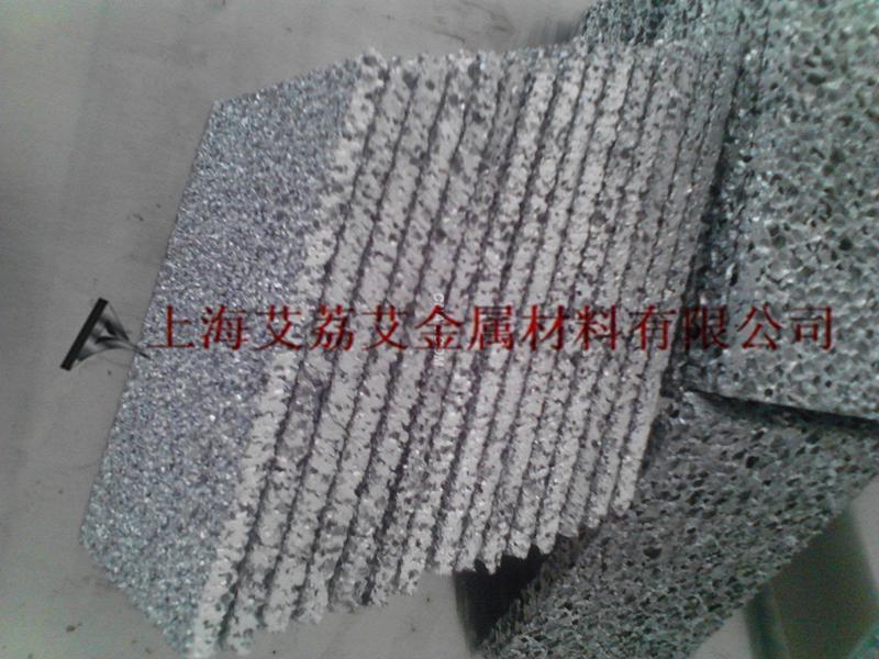 保温绝热隔热泡沫铝板 吸音隔音降噪用泡沫铝合金板 轻质防爆防火电磁屏蔽发泡铝板