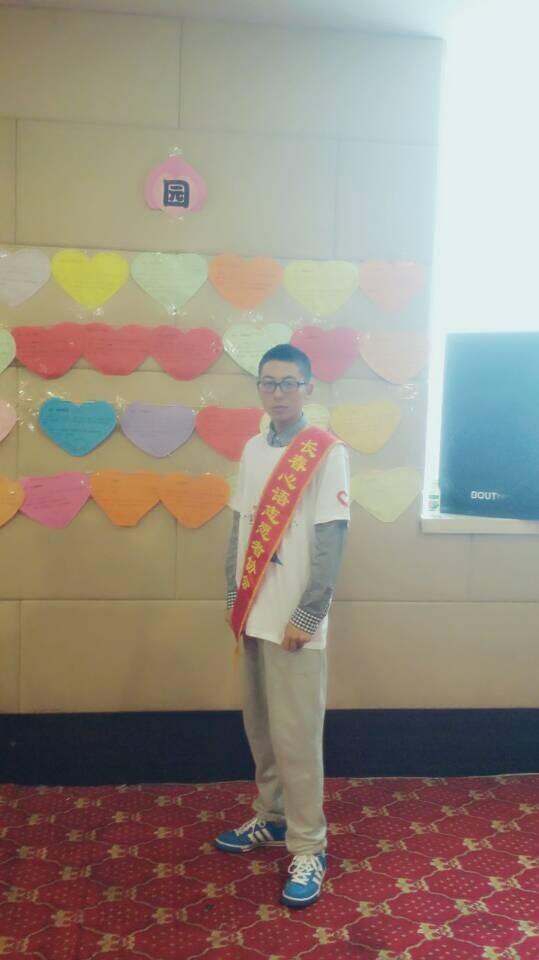 【志愿者秀】2014级志愿者-杨福群