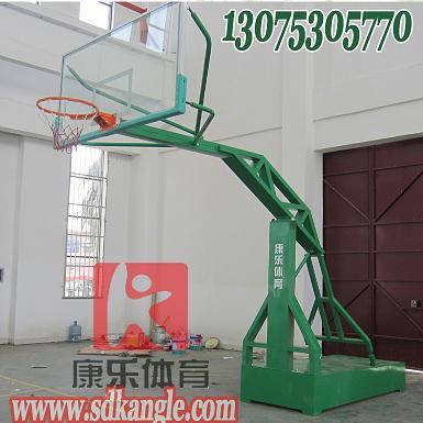 山东平箱仿液压篮球架 比赛篮球架 济南篮球架
