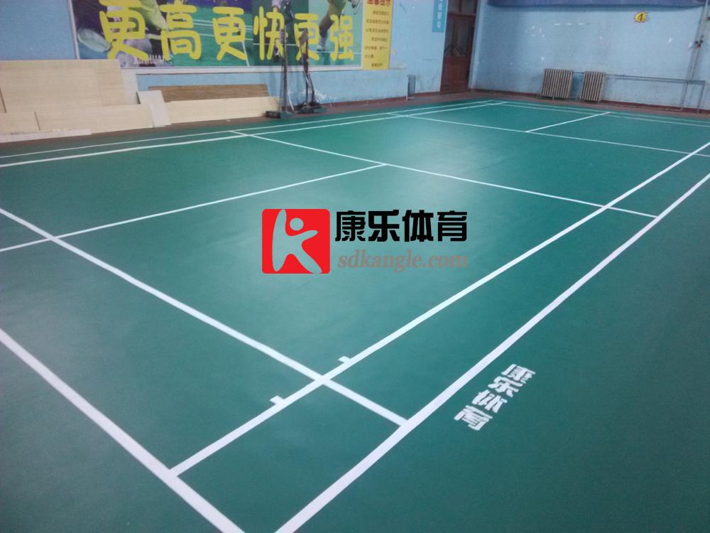 济南塑胶地板,济南乒乓球场地地板,济南羽毛球场地地板