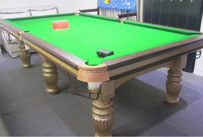 香槟 美式台球桌 高档台球桌 黑八台球桌 十六彩台球桌