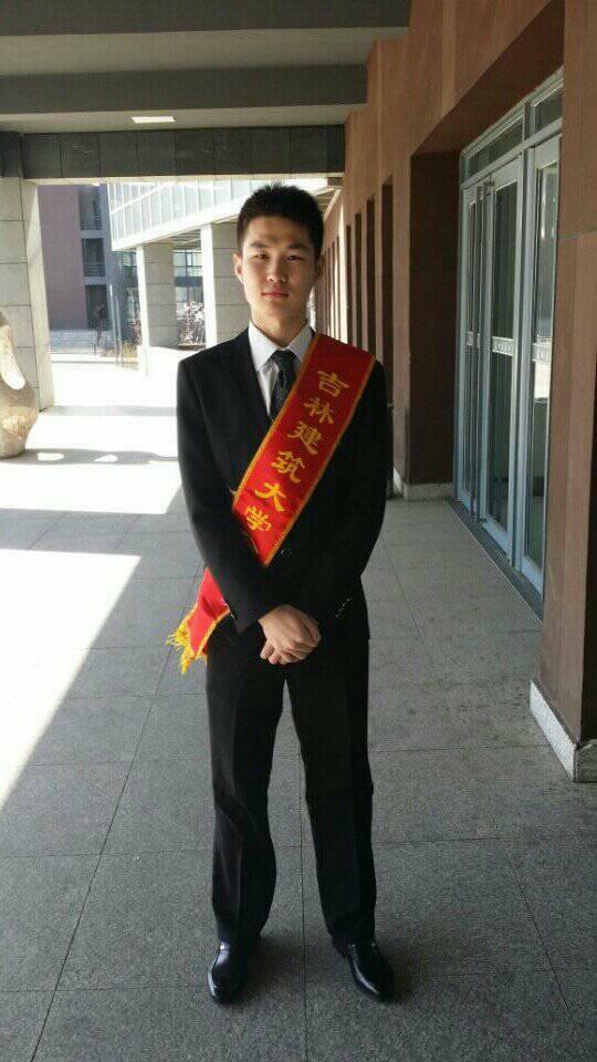 【优秀评比】吉林建筑大学心语志愿者协会 优秀志愿者-张宇轩