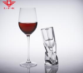 Crystal magic decanter wine aerator LFK-020A