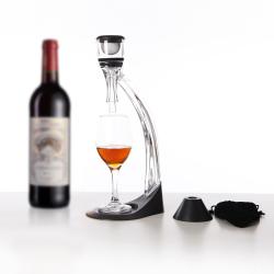 Elite hour glass magic decanter wine aerator set LFK-007C