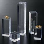 亚克力水晶方块展示台
