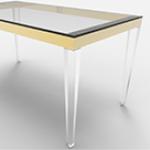 亚克力透明桌