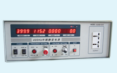 我司400hz中频电源送至XX公司试机