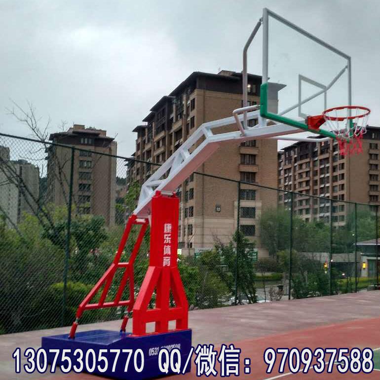 山东篮球架 济南 篮球架 青岛 高档彩色仿液压篮球架