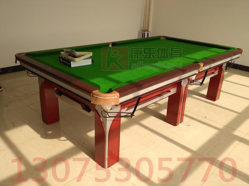 全新方腿高档台球桌 桌球 康乐体育