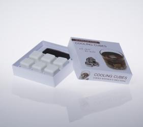 Ceramics Whisky Stone 6 Pcs Set(Color Box Packaging)
