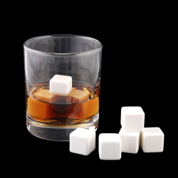 Ceramic Ice Cube 8 Pcs Set( Color Box Packaging)