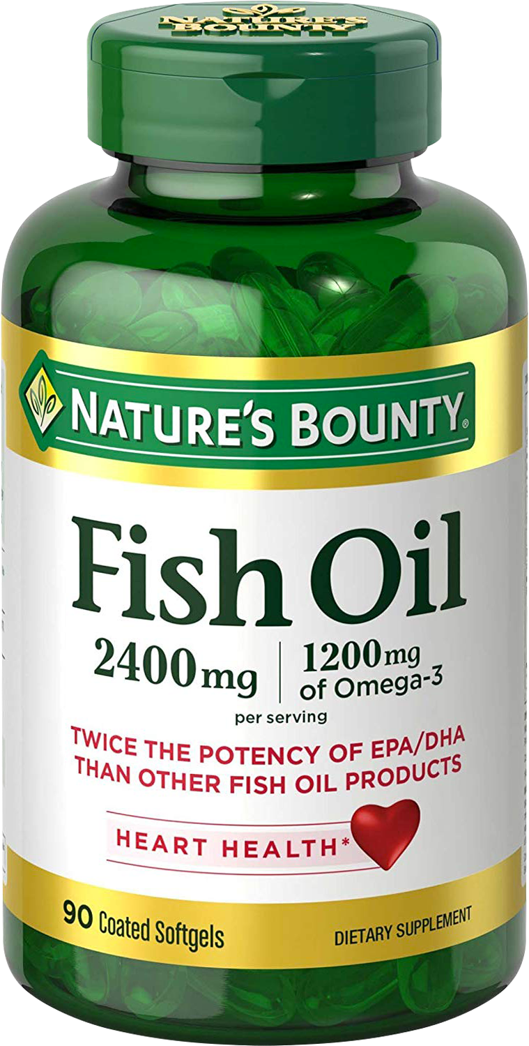 Double Strength Fish Oil 2400mg
