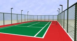 最新篮球场场地规格及画法