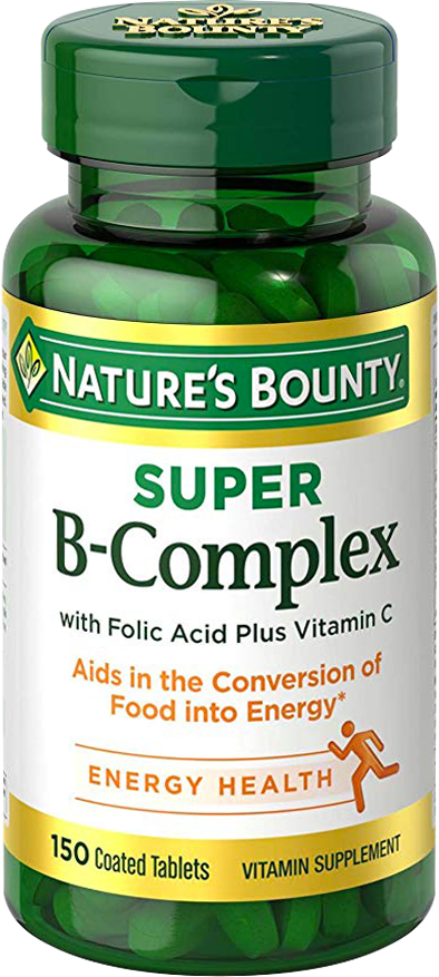 Super B-Complex with Folic Acid Plus Vitamin C