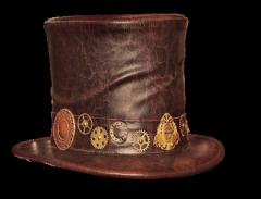 男士皮帽子