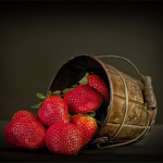 奶油牛奶草莓现摘